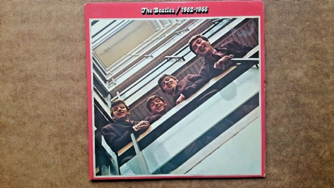 The Beatles 1962-1966 Double LP Vinyl Record
